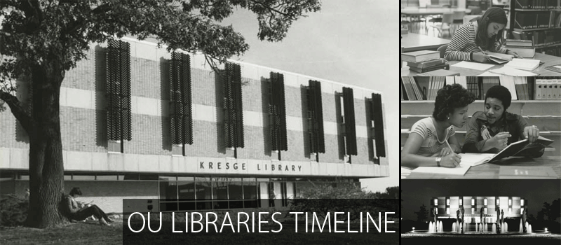 OU Libraries Timeline