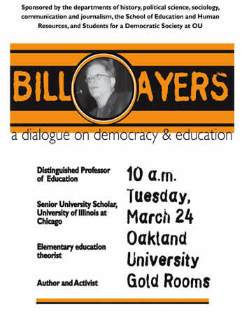 bill ayers essay In this essay, william ayers calls for a more vital and effective public education  system, one guided by the basic democratic principle that all human beings are  of.