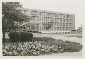 Wilson Hall, circa 1976